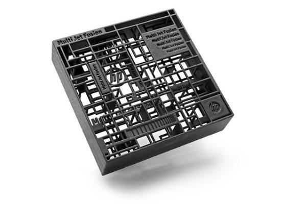 HP Jet Fusion 3D-tulostimella tulostettu osa