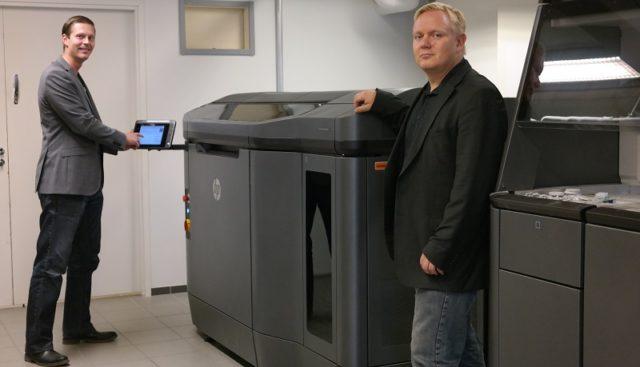 3DTechin perustajat Tomi Kalpio ja Marko Piira